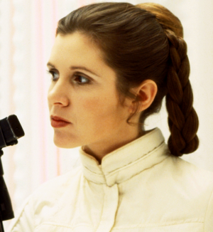 Princess Leia's braids and plaits have also been replaced in the new Star Wars instalment.