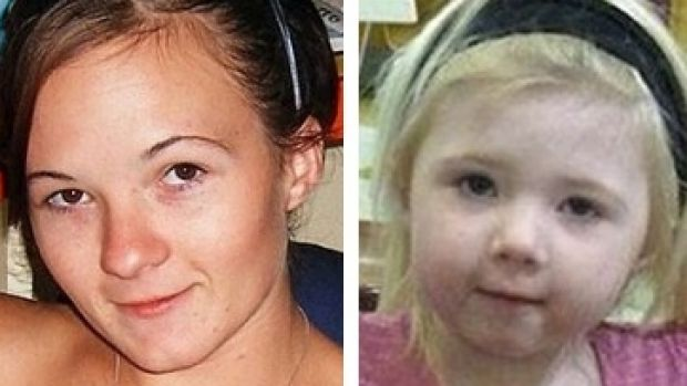 Karlie Pearce-Stevenson and daughter Khandalyce, whose bodies were found in different states, five years apart.