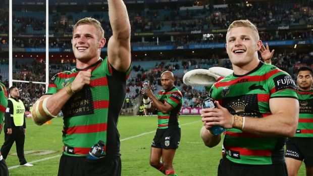 Sticking around: Tom and George Burgess.