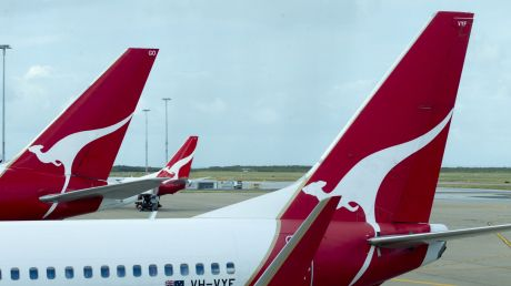 Qantas has banned alcohol, perfumes and other liquids bought at airport duty-free shops in Manila.