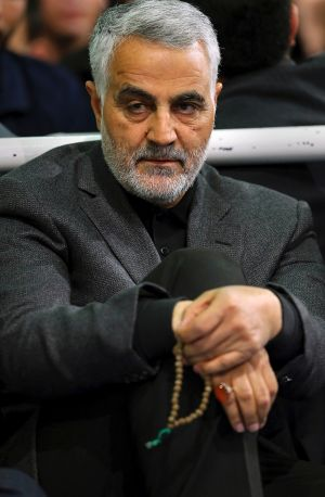 Major-General Qasim Suleimani, head of the Iranian Revolutionary Guard's Quds Force.