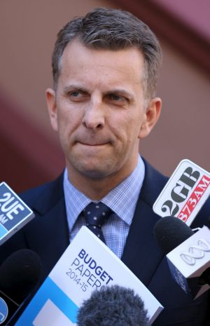 Transport Minister Andrew Constance warned that a moment of inattention at stations could lead to a potentially fatal ...