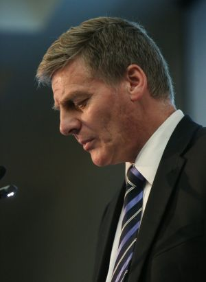 New Zealand's Deputy Prime Minister Bill English.