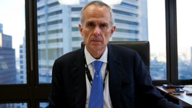 ACCC chairman Rod Sims. Telstra claims ACCC decisions are a business risk.