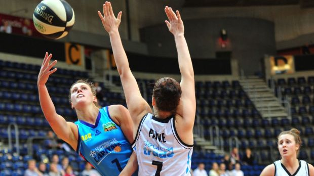 Canberra Capitals forward Stephanie Talbot scored 20 points in the loss to the Dandenong Rangers