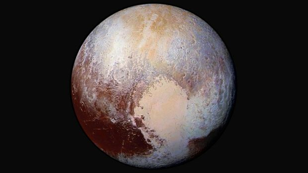 Image of Pluto as captured by the New Horizon spacecraft last year.