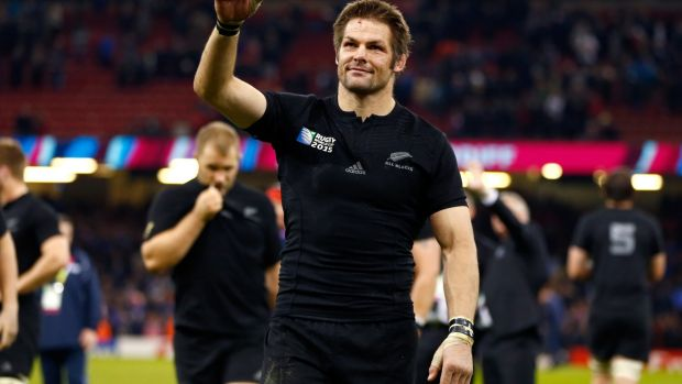 The right man for the job? All Blacks legend Richie McCaw.