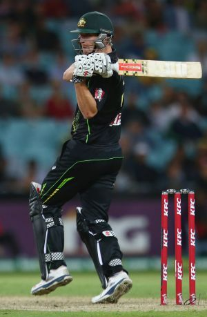 Cameron White was axed to make way for the return of Glenn Maxwell.
