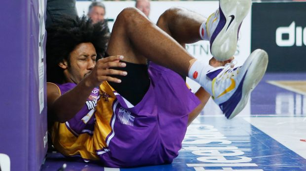 Unlucky run with injuries: Josh Childress has barely been sighted on court this season.