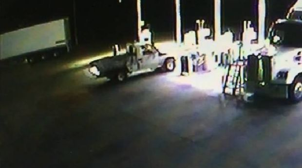 The Stoccos allegedly stole fuel from a service station in South Gundagai on Saturday.