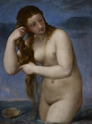 Venus Anadyomene, c.1520-25, by Titian.