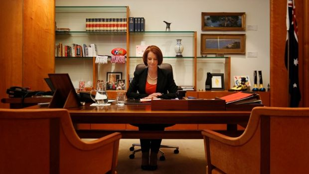 The briefing was prepared for then prime minister Julia Gillard.