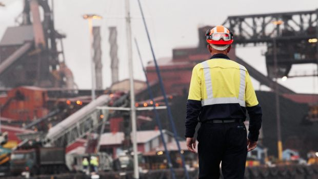 Paul O'Malley said that the 500 Port Kembla workers who lost their jobs, and the remaining workers who agreed to wage ...