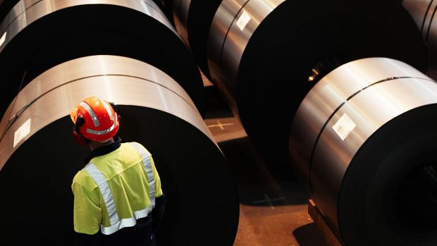 BlueScope Steel says the stronger performance has been driven largely by earlier delivery of cost reductions, growth in ...
