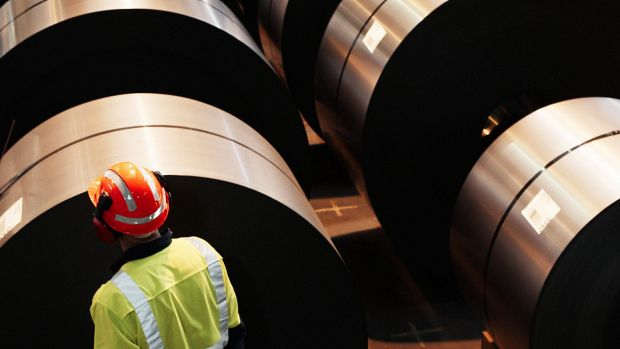 BlueScope reported an annual net profit of $353.8 million in 2015-16, its biggest since 2008.