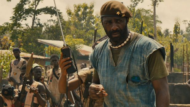 Overlooked ... Idris Elba in <i>Beasts of No Nation</i>.