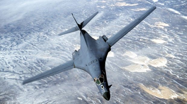 One of the B-1 bombers destined for Australia.