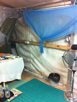A rare insight into the living conditions for asylum seekers on Nauru.
