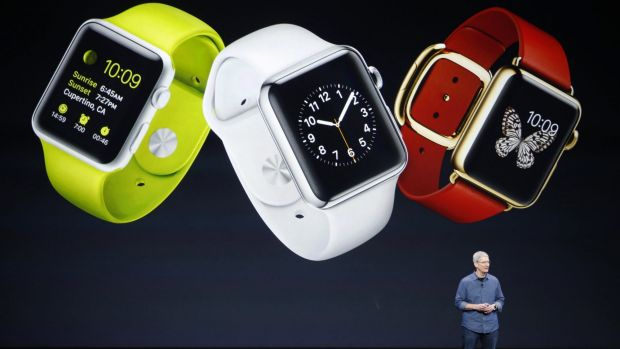 Apple chief executive Tim Cook has not broken out specific sales figures for the Apple Watch but is predicting a new ...