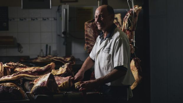 Butcher Richard Odell says the WHO report could encourage customers to choose organic and ethically grown meat.
