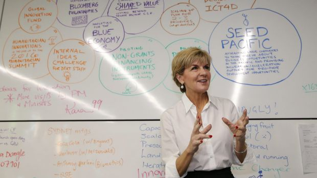 Foreign Affairs Minister Julie Bishop has been praised for her aid engagements, but DFAT faces its own problems.