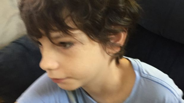 Daniel White's parents, Lynette Nolan and Cary White, say he was strapped to his chair at Hervey Bay Special School with ...