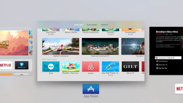 Access to the App Store makes the new Apple TV a lot more versatile.