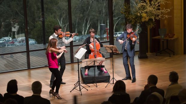 The Australian String Quartet will play a series of concerts at Margaret River wineries.