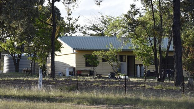 The Pinevale property in Elong Elong near Dunedoo where Gino and Mark Stocco were arrested in October 2015.