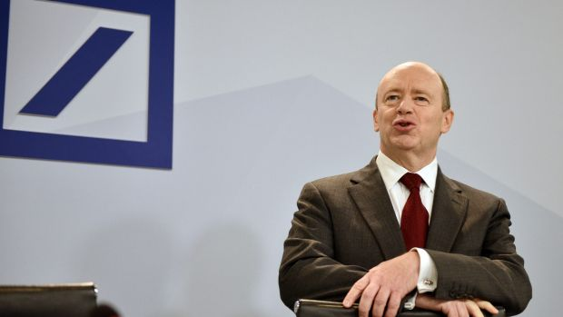 Deutsche Bank chief executive John Cryan has accepted the bank's vision is a limited one.