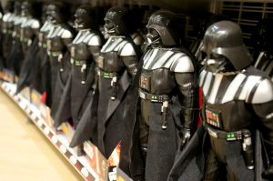 What to do with that reverence for a galaxy far, far away? Well, spend, of course.
