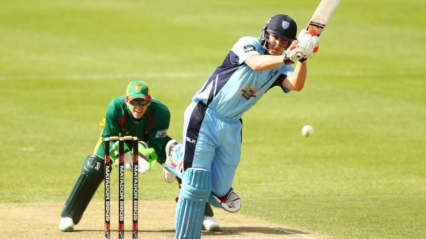 """""""We don't really know what to expect. But it's a new challenge"""": Nic Maddinson of the Blues."""