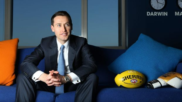Tom Waterhouse, chief executive of William Hill Australia.