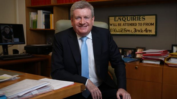Communicatios Minister Mitch Fifield acknowledged the poor connectivity in suburbs such as Theodore but said the ...