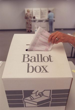 The NSW Electoral Commission calculates voters' later preferences by choosing a random sample of ballots and ...