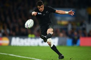 Bumped out of top spot: All Blacks great Dan Carter.