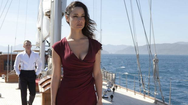 Women in the Bond films are no longer mere background characters: James Bond (Daniel Craig) and Severine (Berenice ...