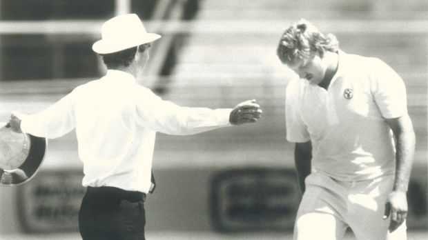 The match against the West Indies in 1988 was Australia's last loss at the Gabba.
