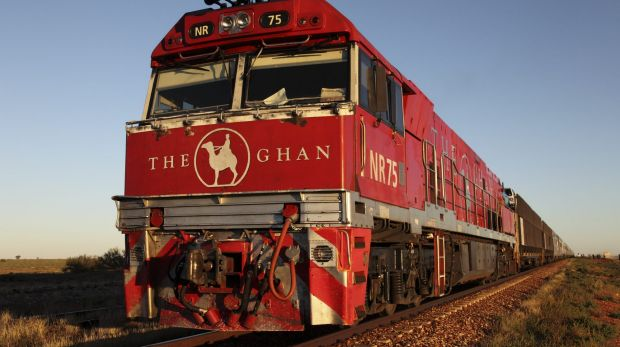 David Potts has bumped into readers everywhere from The Ghan to Coles.