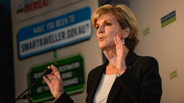 Julie Bishop has warned travellers of serious consequences if their preparation is inadequate or if they make ...