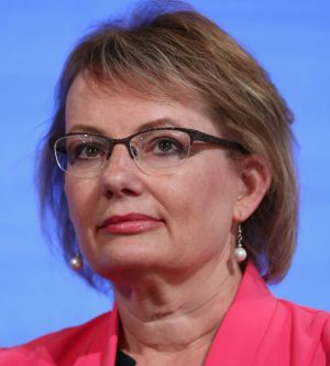 """Health Minister Sussan Ley  was   """"deeply upset"""" about the report on Louis Tate's death."""
