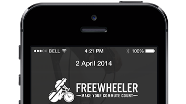 The new app will let you accrue points for cycling, walking and catching public transport.