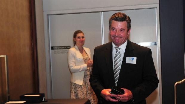 Peter Cursley was announced ACT Local Hero at the 2016 ACT Australian of the Year awards ceremony held in the Gandel ...