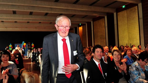 Professor Greg Tegart was announced ACT Senior Australian of the Year at the 2016 ACT Australian of the Year awards ...