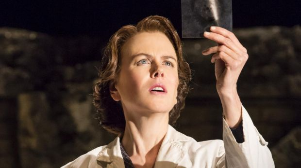 Nicole Kidman as chemist Rosalind Franklin in <i>Photograph 51</i>.