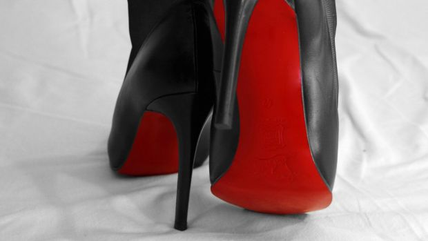 Most of the unlawful posts on Instagram feature a picture of a counterfeit good, like Christian Louboutin heels, along ...