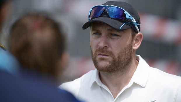 """Brendon McCullum has been cheekily labelled """"Mr Nice Guy"""" by David Warner."""