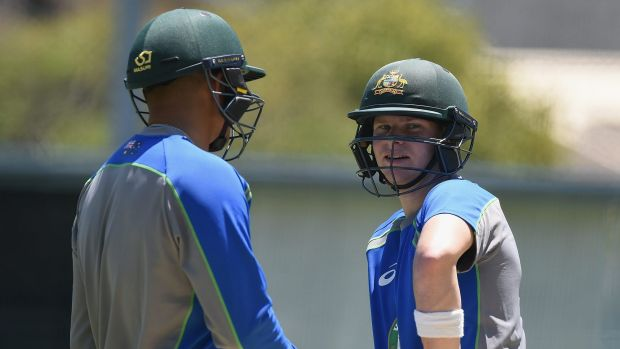 """Hotting up: Steve Smith says the Kiwis are free to """"play that nice-guy act again""""."""