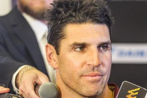 """We're in a hole, to be fair, and down on confidence and probably lacking a fair bit of belief"": Trent Barrett."