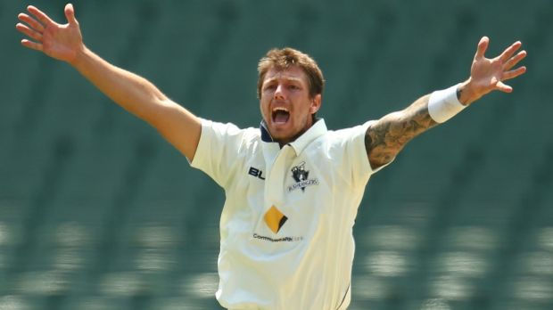 No doubts about fitness: James Pattinson.